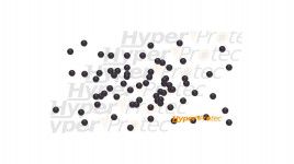 50 Munitions balles caoutchouc calibre .43 - 10 mm - RAM