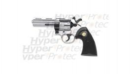 357 Python revolver alarme 9 mm chromé crosse noire