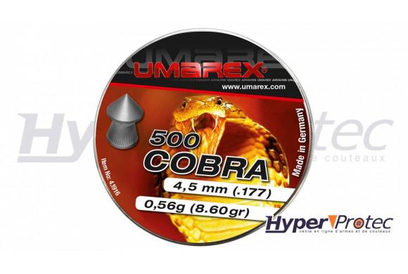 Plombs 4.5 mm pointus - Cobra