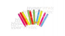 Lot de 10 micro bâtons lumineux multi couleur - 5 cm