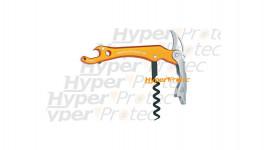 Couteau de sommelier Vinum de Fox manche orange
