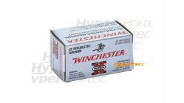 50 cartouches 22 Magnum pointe creuse Winchester Super X