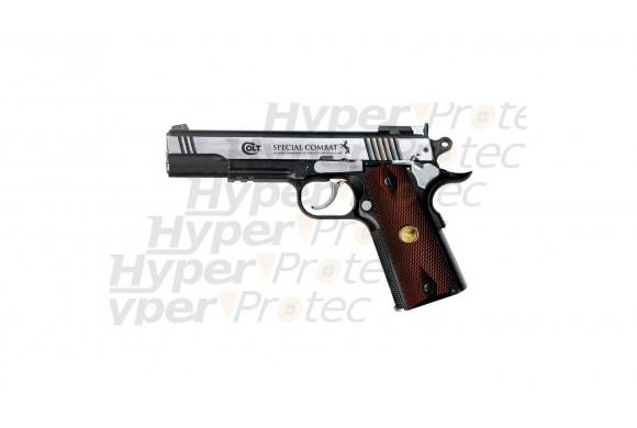 Colt Special Combat metal - pistolet CO2 billes acier 4.5