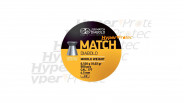 Plombs 4.5 mm JSB Match Yellow - Middle weight cal. 4.50