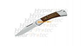 Couteau Fox pliant avec 2 mitres et manche palissandre