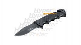 Couteau de survie Herbertz Top Collection avec étui et mallette