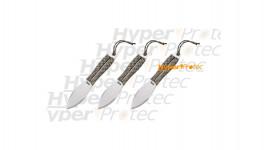 3 grands couteaux de lancer Sog Fling avec corde camo