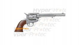 Colt 1873 Peacemaker SAA chromé de collection Denix