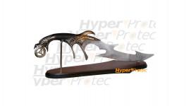 Couteau de décoration Dragon Wheel avec son support