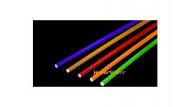 Fibre optique 1 mm (coloris au choix) lot de 2 brins 13 cm à couper