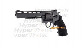Revolver Black Ops noir 6 pouces à billes acier 4.5 mm
