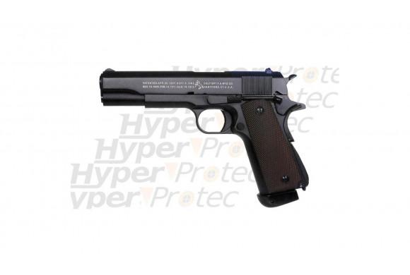 Colt M1911 A1 - airsoft à CO2 culasse mobile full métal