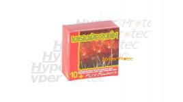 10 fusées pyrotechniques cascade rubis 15 mm