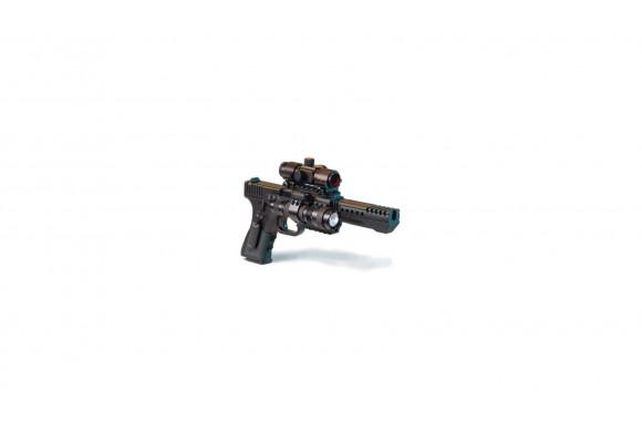Lunette AIRSOFT de visée Swiss Arms 4x32 (pour rail 22 mm)