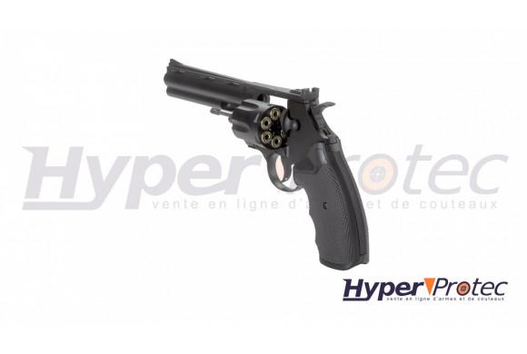 Revolver billes d'acier KWC Colt Python 357 noir 6 pouces