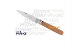 Couteau Normaund manche en bois de pommier
