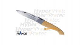 Couteau Le Pyréneen avec Patou manche en buis