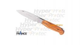 Couteau Lou Provencau manche en olivier