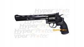 Revolver Dan Wesson noir 8 pouces - plombs diabolos 4.5 mm