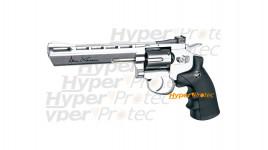 Revolver Dan Wesson chromé 6 pouces