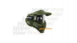 Masque de protection paintball 1er prix VForce Armor vert olive