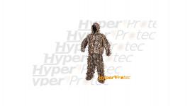 Tenue de camouflage ghillie pour sniper à feuilles - Taille XL