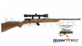 Pack carabine 22LR Stevens 300G + lunette de tir 3-9x32 + cartouches