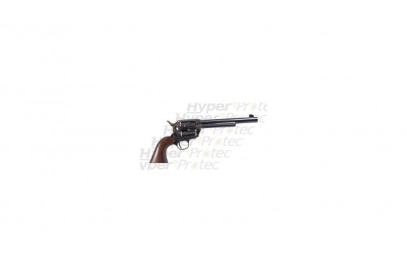 Colt 1873 à blanc 19 cm noyer