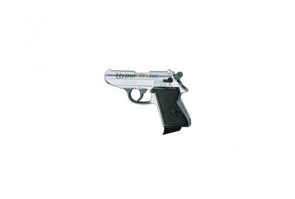 Pistolet à blanc Chiappa lady chrome 9 mm alarme