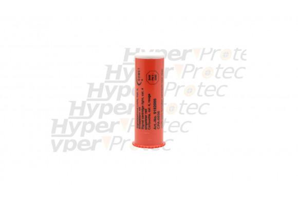Fusée de détresse rouge - cartouche calibre 4