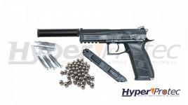 Pack Pistolet CZ P09 Duty + munitions 4.5 mm