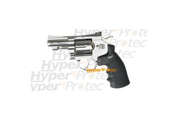Revolver Dan Wesson à plombs chromé 2.5 pouces
