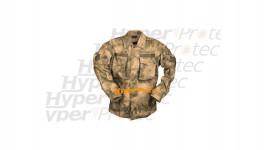 Veste chemise militaire Mil-tacs Commando camouflage