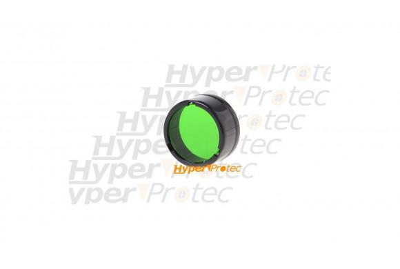 Filtre vert Nitecore pour lampe de poche diamètre 25 mm