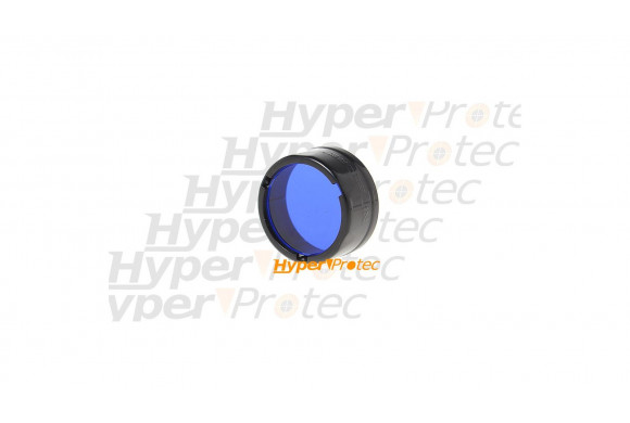 Filtre bleu Nitecore pour lampe de poche diamètre 25 mm