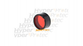 Filtre rouge Nitecore pour lampe de poche diamètre 25 mm