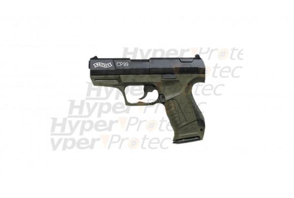 Walther CP99 vert armée CO2 plombs 4.5 mm