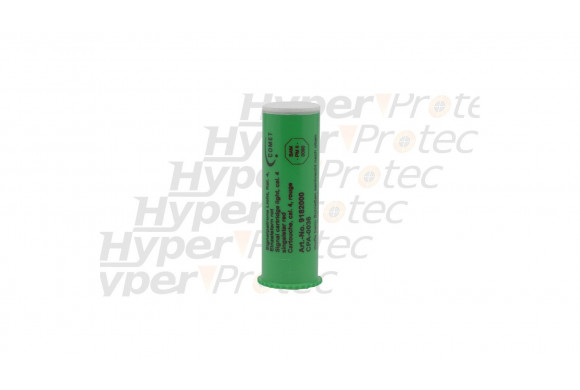 Fusée de détresse verte - cartouche calibre 4