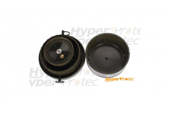 Ruger P345 airsoft CO2 noir visée fibre optique