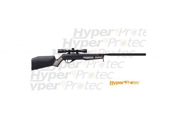 357 Magnum chromé - revolver à blanc crosse bois