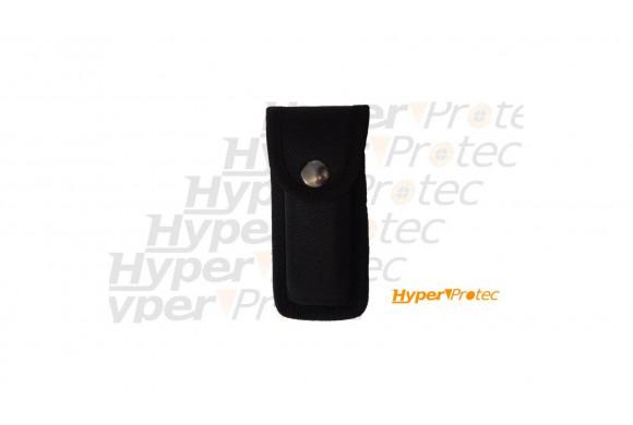 Etui rigide noir pour couteau en nylon Herbertz - 14 cm