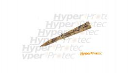 Couteau papillon camouflage inox 10cm