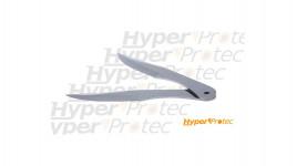 Set de 2 couteaux de lancer en acier de 21.7 cm avec étui camo