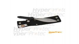 Couteau de lancer Herbertz noir et inox - 21.5cm