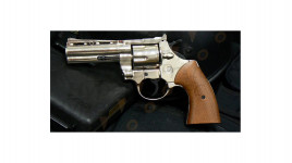 Bruni Magnum - Revolver Alarme - Chromé