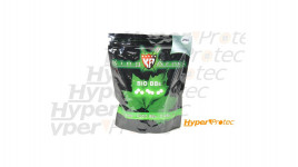 Sac de 4000 billes bio airsoft Swiss Arms blanche 0.25g 6mm