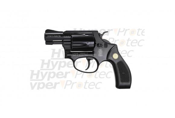 Revolver Dan Wesson noir 6 pouces - airsoft CO2 6 mm