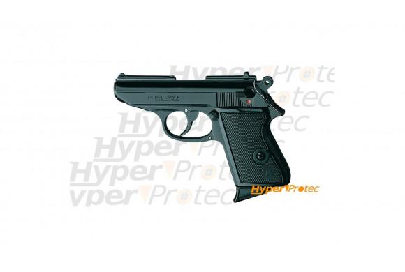 Pistolet alarme PPK 9mm lady à blanc et tir feu artifice du 14 juill