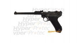 Pistolet Luger P08 canon long version artillerie