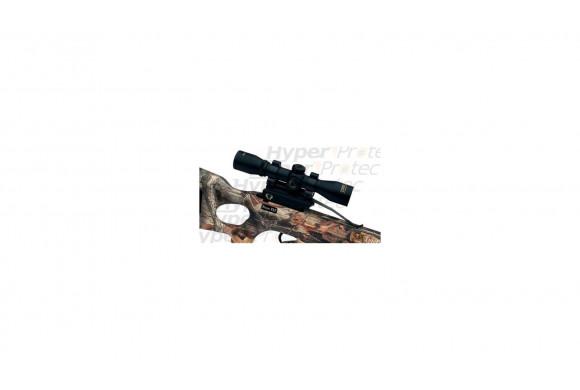 Noris Twinny pistolet revolver alarme chromé crosse noire